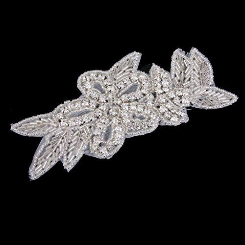 Diamante De Hierro En Apliques Para La Boda Vestido De Novia Decoracion Bricolaje