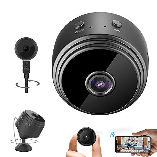 Security Camera & WiFi Video Camera 1080P HD Small Home Security Camera Micro Surveillance Camera Indoor Outdoor Video Recorder, with Motion Detection|Night Vision
