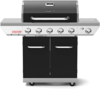 Nexgrill 720-0882AE Evolution 5-Burner Propane Gas Grill in Black with Side Burner and Infrared Tech