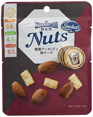 Nihonbashi Bar Nuts 燻製アーモンドと焼チーズ 36g ×8袋