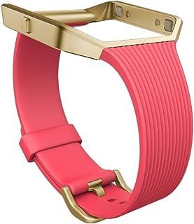 Fitbit bracelet classique version slim pour montre intelligente Blaze, Mixte Adulte, Rose, Taille S