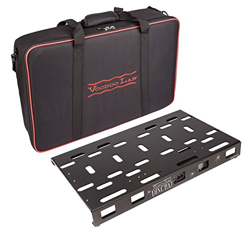 Voodoo Lab Dingbat Medium Pedalboard with Pedal Power 4x4 Power Supply & Bag