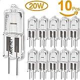Act Lot de 10 ampoules halogènes G4 20 W / 12 V [Classe énergétique C]