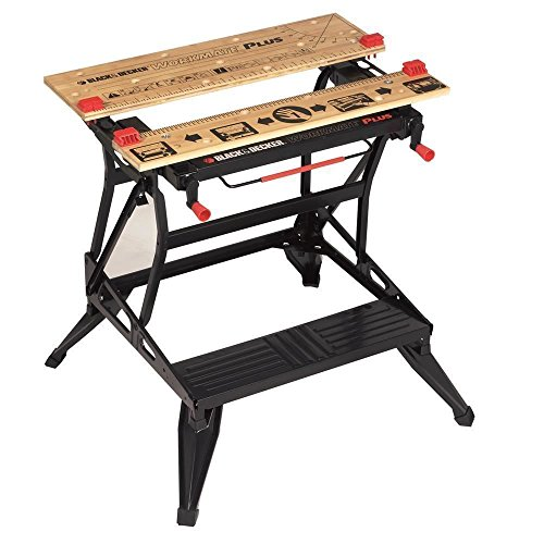 BLACK+DECKER Workmate Plus, Work Bench Tool Stand Saw Horse...