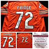William Perry Signed Autographed Orange FRIDGE Jersey JSA COA - Chicago Bears Great