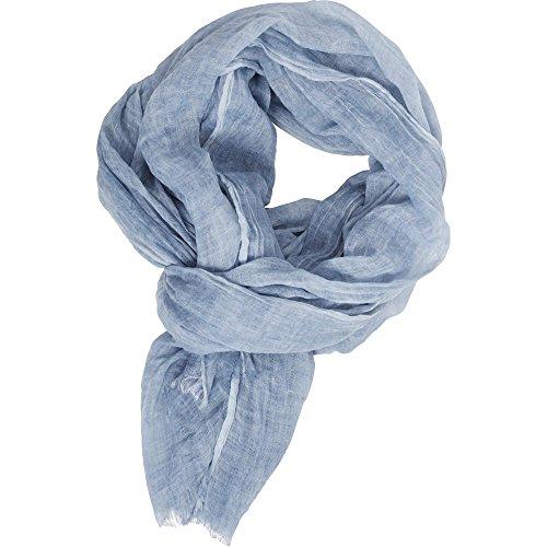 Urban Classics Unisex Cold Dye Schal, Blau (Lightblue 00344), One Size