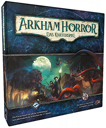 Asmodee FFGD1100 Arkham Horror: LCG-Grundspiel