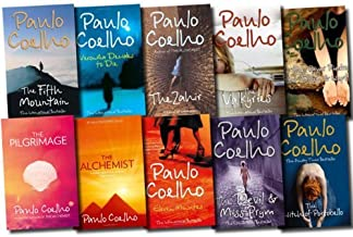 Paulo Coelho Collection 10 Books Set (The Alchemist, Eleven Minutes, The Fifth Mountain, Veronika Decides to Die, The Valk...