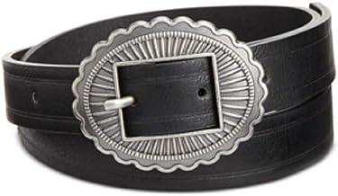 Inc International Concepts Skinny Conch Buckle Belt