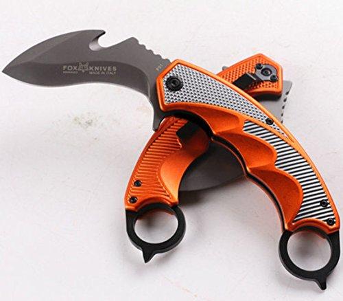 KNIFE SHOP Autodifesa all'aperto Anello conveniente coltello Piega l'esercito svizzero coltello -F93