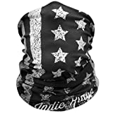 American Flag Outdoor Motorcycle Mask By Indie Ridge - Ski Snowboard Mask Seamless Headwear
