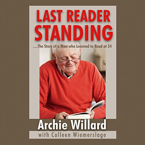 Last Reader Standing audiobook cover art