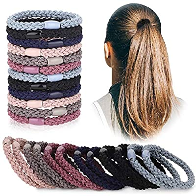 12 Stücke Baumwolle Haargummis