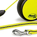 flexi Roll-Leine Neon Reflect S Seil 5 m Neon/schwarz für Hunde bis max. 12 kg - 4