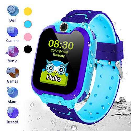 HuaWise Kids Smartwatch[SD Card Included], Waterproof Smartwatch for Kids with...
