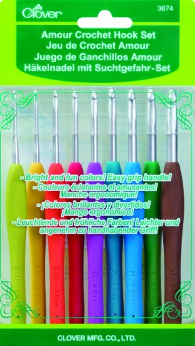 CLOVER Amour Crochet Hook Set, 1