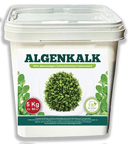 DARO Design Bio Algenkalk 5Kg - Buchsbaum Pulver höchster Qualität - Kohlensaurer Kalk aus 100% Meeresalgen