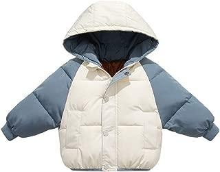 SINGOing BabyJeansjacke Kinderkleidung Kinder Weiche Kuschelfleece Denim Jacket Baby-Jungen Sweatjacke Outdoorjacket Mantel Warme Winterjacke Dicke Warm Jeans Windjacke