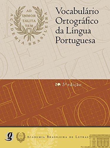 Vocabulário Ortográfico da Língua Portuguesa (professor)