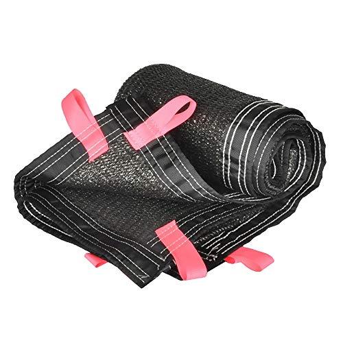 XIAOYAN schaduw doek dikker schaduw net Patio zonnebrandcrème stofdicht mesh zwart outdoor dak kas isolatie netwerk