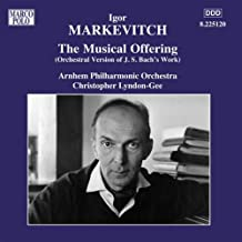 Musical Offering: Fuga (Ricercar) a 6 Voci (orch. Igor Markevitch): IV. Fuga (Ricercar) a 6 Voci