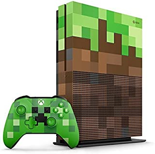 Console Xbox One S - 1 Terabyte + HDR + 4K Streaming + Jogo Minecraft - Edição Limitada