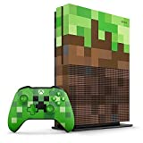 Xbox One S 1TB Limited Edition Console - Minecraft...