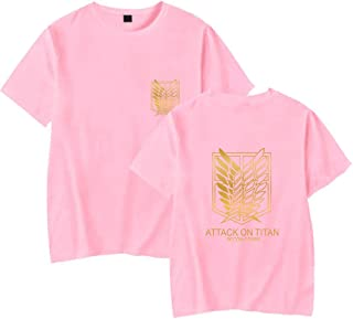 LKY STAR Attack On Titan Camiseta Shingeki no Kyojin Scouting Legion T-Shirt Cosplay