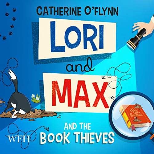 Lori and Max and the Book Thieves cover art