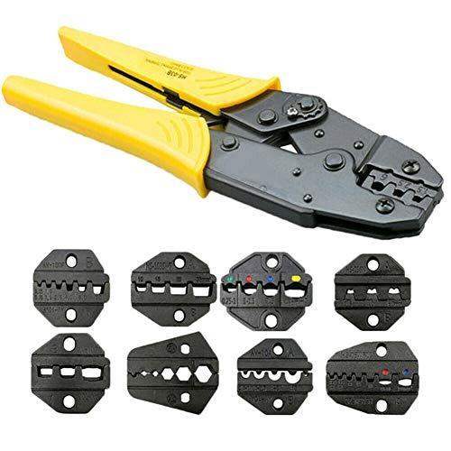 Handwerkzeug Zangen Professionelle Kabel Crimp-Technik Ratchet Terminal-Draht-Zangen-Werkzeug-Set Welligkeit