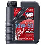 LIQUI MOLY リキモリ Motorbike 4T Synth 10W-50 Street Race 〈4サイクル用エンジンオイル〉 1L 1751