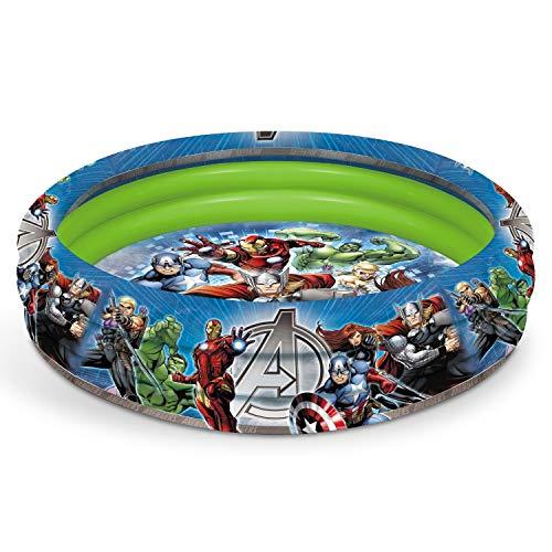 Marvel Mondo Spa 16609 Piscine Gonflable Avengers Diametre 100CM150, Multicolore, 20, 5000 x 5, 0000 x 28, 5000 cm