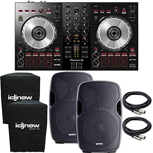 Review Pioneer DDJ-SB3 Serato DJ Controller Starter Package with 15 Speakers + Covers
