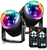Disco Ball Disco Lights - DILISS Party Lights Sound Activated Storbe Light With