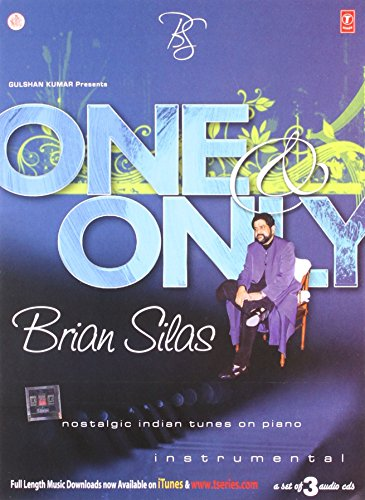 One & Only Brian Silas- Nostalgic Indian Tunes on Piano (Brand New 3 Disc Audio Cd Set, Released By T-Series)