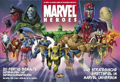 Asmodee HEI0MV01 - Marvel Heroes Brettspiel, deutsche Ausgabe