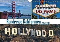 Rundreise Kalifornien mit Las Vegas (Wandkalender 2021 DIN A4 quer): 12 tolle Motive aus Kalifornien und Las Vegas (Monatskalender, 14 Seiten )