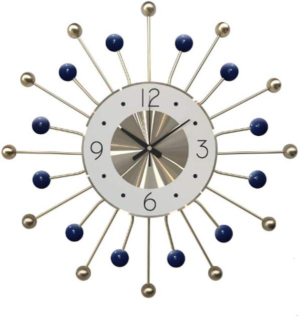 SHISEDECO Modern Wooden and Metal Ball 売買 Styl Classic Fusion Clock 送料無料でお届けします