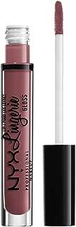 NYX PROFESSIONAL MAKEUP Lip Lingerie Gloss, Mauve Pink, 0.11 Ounce