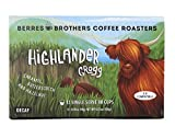 Berres Brothers Highlander Grogg Decaf Coffee 72 Loose Count Single Serve Pods Compatible with Keurig K Cups K Pods Coffee Makers, Flavored Coffee, Medium Roast, Gourmet, Decaffeinated Coffee, Roasted Coffee
