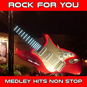 Rock for You Medley: Owner of a Lonely Heart / With a Little Help from My friends / Whole Lotta Love / We Are the Champions / Foxy Lady / Space Oddity / Angie / Rocket Man / Smoke on the Water / Layla / Black Magic Woman / Light My Fire / Shine on You Cra