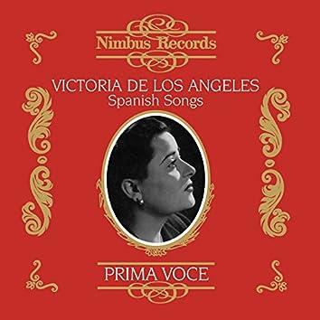 Victoria De Los Angeles in Spanish Songs