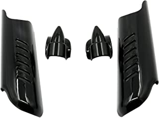 Moto Fender Garde-boue acier 260/mm moto Bobber style universel Motorrad Burchard