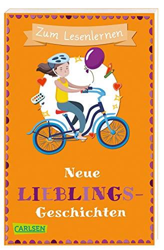 Neue Lieblingsgeschichten zum Lesenlernen: Spielerische Leserätsel, Wortersatz durch Bilder und kurze Geschichten für alle Erstleser ab 6 Jahren