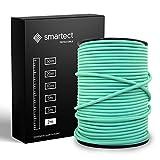 smartect Cable para lámparas de tela en color VerdeMenta - Cable textil...