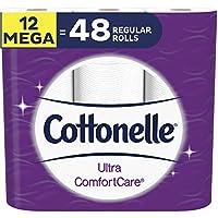 12-Rolls Cottonelle Ultra ComfortCare Soft Toilet Paper