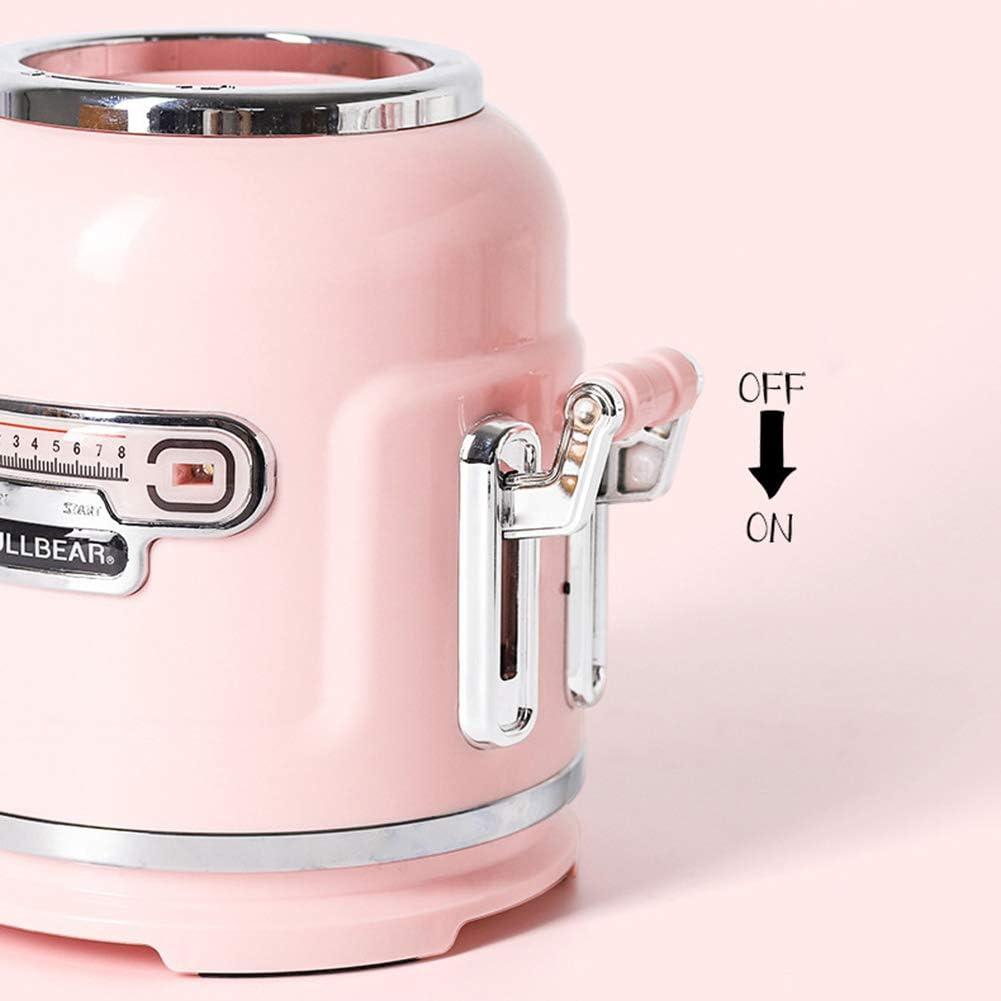 WONOOS Mixer Fruit Rechargeable Haute Puissance pour La pour Les Milk-Shakes Aux Fruits, Les Boissons Aux LéGumes,Blanc White