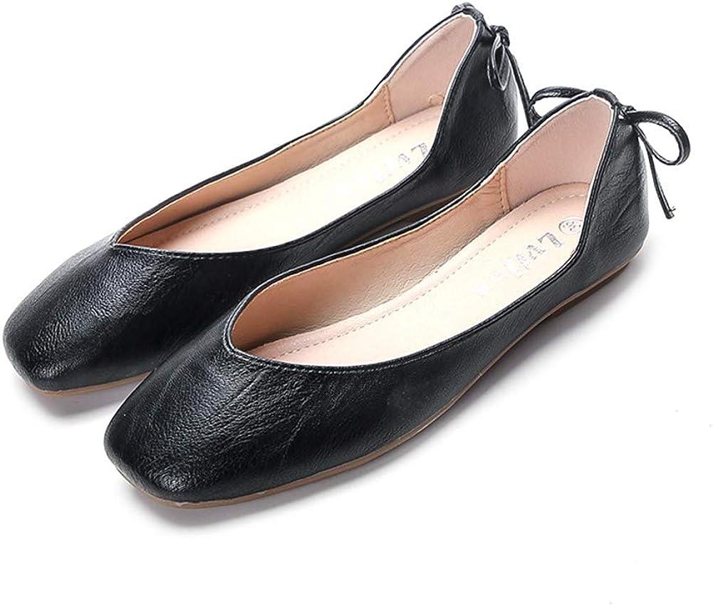 ANYUNIS Women's Bowknot Ballet Flat– Slip Tucson Mall Comfort On Tampa Mall Walkin