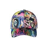 XVXFZEG La Pintada del Color del Sombrero de Hip Hop Joker Jóvenes Cap Cola de Caballo Gorra de béisbol de algodón Lavable Casquillos Ajustables Messy Bun Gorra de béisbol, Suave y Transpirable Curvo