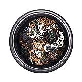 iSpchen Accessori per Unghie Fai da te 100 PCS/Box Festival Glitter Viso Corpo Capelli Unghie Decorativi Nail Art Glitter Sequin Chiodi Lucidi Decorazione Decalcomanie Scintillante Sticker #3